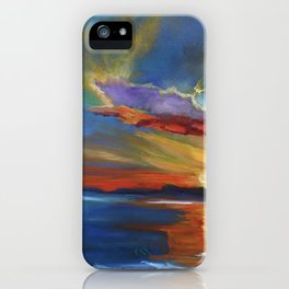 Tropical Reflections iPhone Case