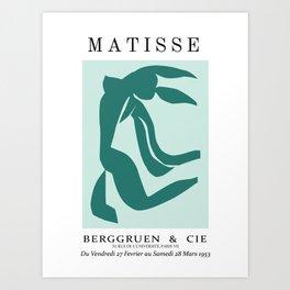 matisse abstract female Art Print