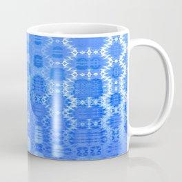 Martian Energies Pattern (dreamy blues) Coffee Mug