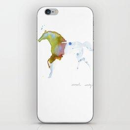 Crystal Horse iPhone Skin