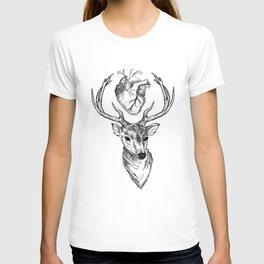 Hipster Deer T-shirt
