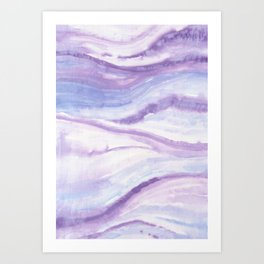 Abstract wave 10 textile Art Print