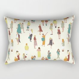 Ladies Rectangular Pillow