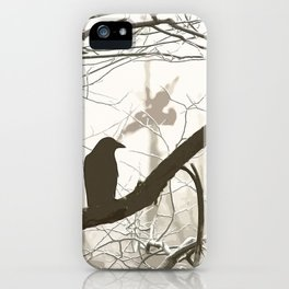 Natural crows iPhone Case