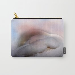 swan with pastell background Carry-All Pouch