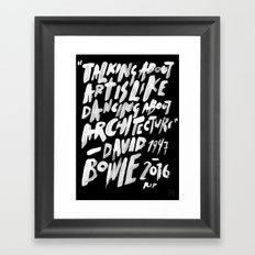 RIP ZIGGY Framed Art Print
