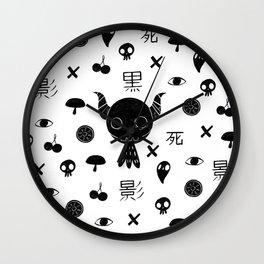 Paint it Kuro Wall Clock