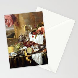 Laurens Craen Still Life with Imaginary View Stationery Cards