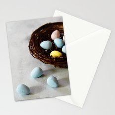Robin's Eggs and Nest Stationery Cards