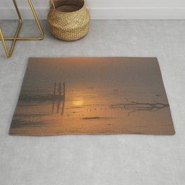 Sunrise on the Horicon Marsh Rug