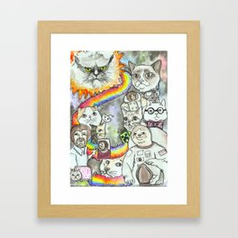 Welcome To The Internet Framed Art Print