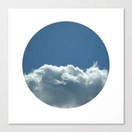 Blue+White Canvas Print