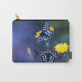 The Checkerspot Couple Carry-All Pouch