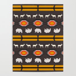 Deer and bears Poster