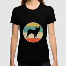 Boston Terrier Dog Gift design T-shirt