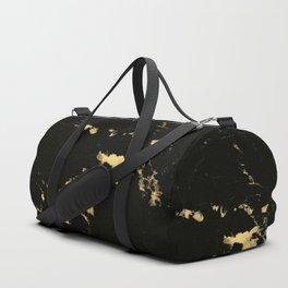 Black Marble #5 #decor #art #society6 Duffle Bag