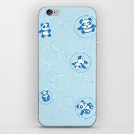 Bubble Pandas iPhone Skin