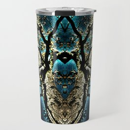 Tree Aglow Abstract Travel Mug