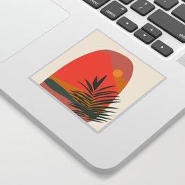 Tropical Landscape Sticker