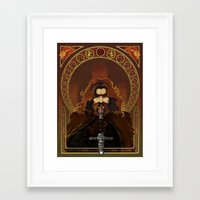 gryffindor Framed Art Prints featuring Gryffindor by luvami