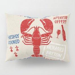 Le St-Jacques Lobster Shack Pillow Sham