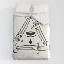 live by the sword die by the sword Comforters