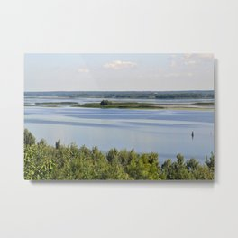 Landscape on the river # 3 Metal Print