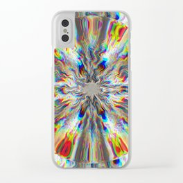 Spark Clear iPhone Case