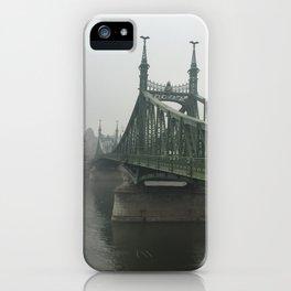 Winter Fog in Budapest iPhone Case