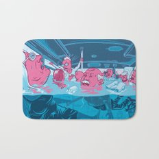 water in the bus Bath Mat