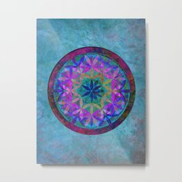 Flower of Life 3 Metal Print