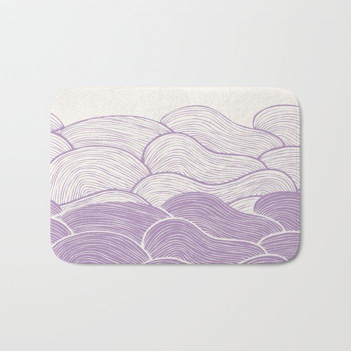 The Lavender Seas Bath Mat