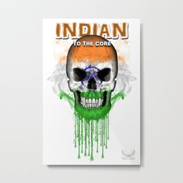 To The Core Collection: India Metal Print