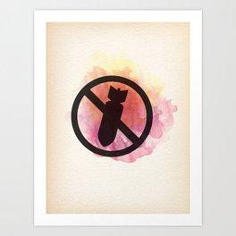 No war II Art Print