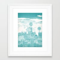 earth Framed Art Prints featuring Earth by David Fleck