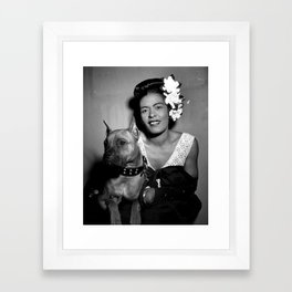 Billie Holiday : Lady Day & Her Mister Framed Art Print