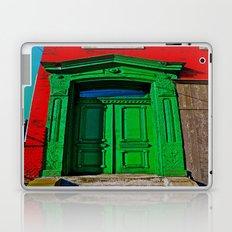The Old Green Door  Laptop & iPad Skin