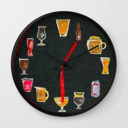 Beer:30 Wall Clock