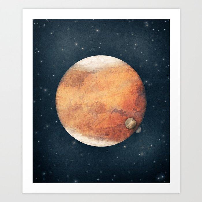 The Red Planet Kunstdrucke