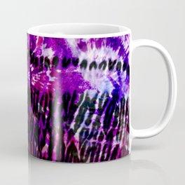Purple Tie Dye Batik Mix Coffee Mug