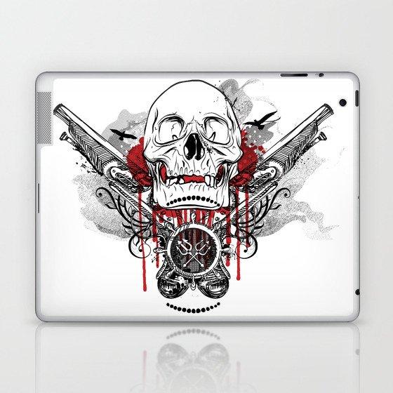 Pirate Skull and Pistols  Laptop & iPad Skin