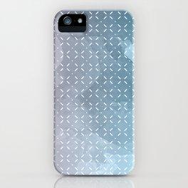 Geometric Aquarelle iPhone Case