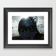 Underwater Portrait Framed Art Print