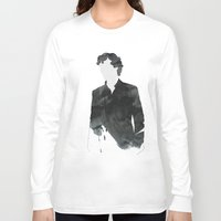 sherlock Long Sleeve T-shirts featuring Sherlock by daniel
