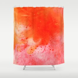 Abstracblast  Shower Curtain