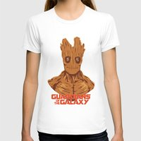 groot T-shirts featuring Groot  by bookotter