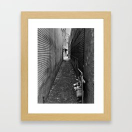 ...any path will take you there... Framed Art Print