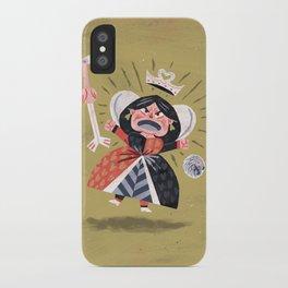 Queen of Hearts - Alice in Wonderland iPhone Case