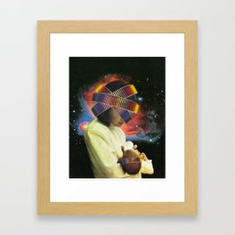 Portrait of Our Promised Future Framed Art Print