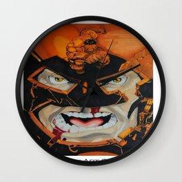 Hulk vs Juggernaut Wall Clock